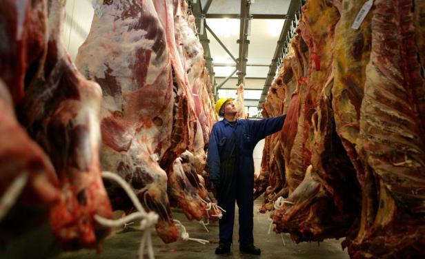 China sigue liderando las compras de carne