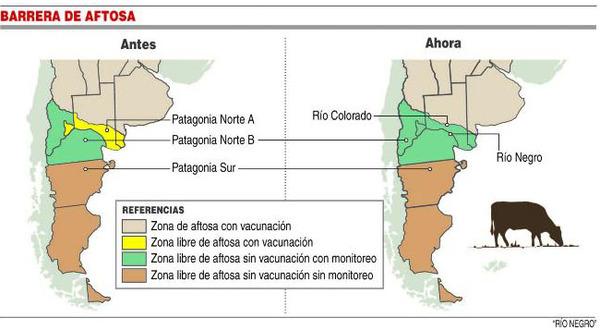 Casamiquela negó un posible corrimiento de la barrera sanitaria patagónica