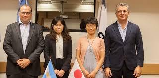 Una delegación japonesa evaluó frigoríficos, campos y el laboratorio del Senasa