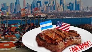 En agosto, Argentina habría alcanzado la cuota de exportaciones de carne a Estados Unidos