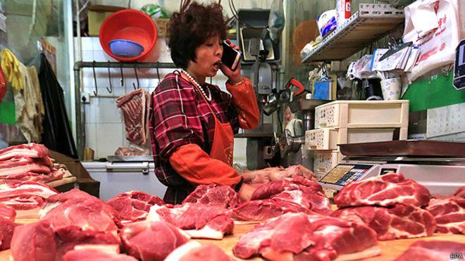 El Covid-19 barrió con 40% de los importadores chinos de carne