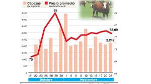 Por fuerte demanda china, anticipan alzas de hasta 25% en el precio de la carne
